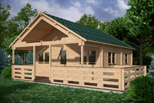 Houten chalets | vakantiewoningen houten woonhuizen | Blokhutwereld.nl